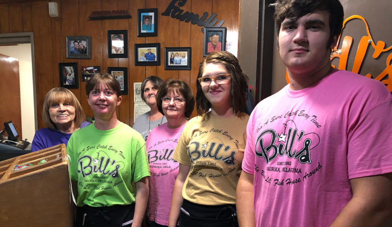 Bill's Fish House Employees